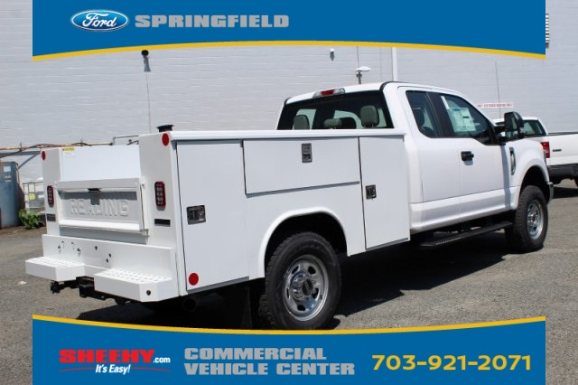 2019 F-350 Super Cab 4x4, Reading Classic II Steel Service Body #GE60159 - photo 2