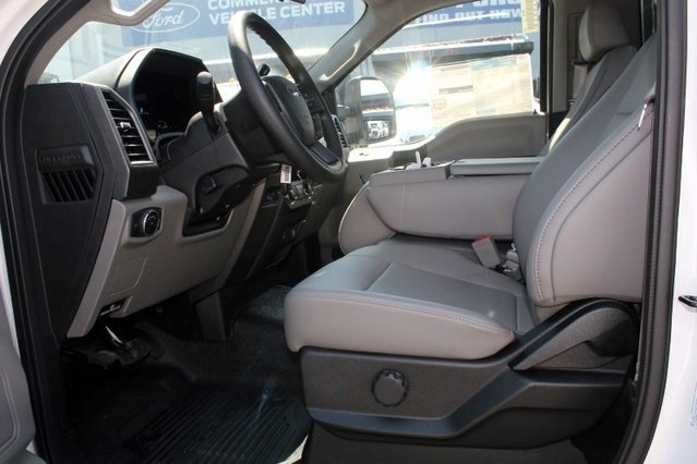 2019 F-550 Regular Cab DRW 4x2,  PJ's Platform Body Stake Bed #GE60634 - photo 16