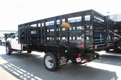 2019 F-550 Regular Cab DRW 4x2,  PJ's Platform Body Stake Bed #GE60634 - photo 4