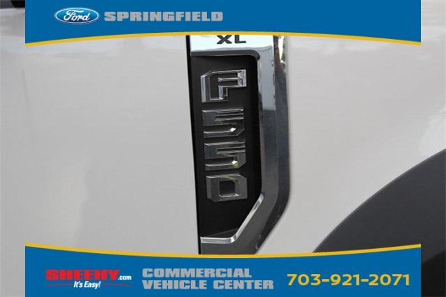 2019 F-550 Regular Cab DRW 4x2,  PJ's Stake Bed #GE60635 - photo 8
