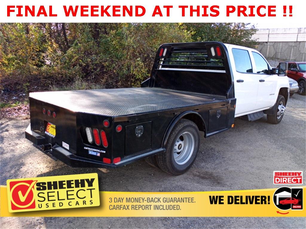 2019 Chevrolet Silverado 3500 Crew Cab 4x4, CM Truck Beds Platform Body #GE97454F - photo 4