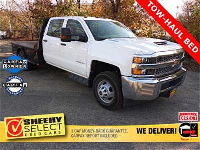2019 Chevrolet Silverado 3500 Crew Cab 4x4, CM Truck Beds Platform Body #GE97454F - photo 1