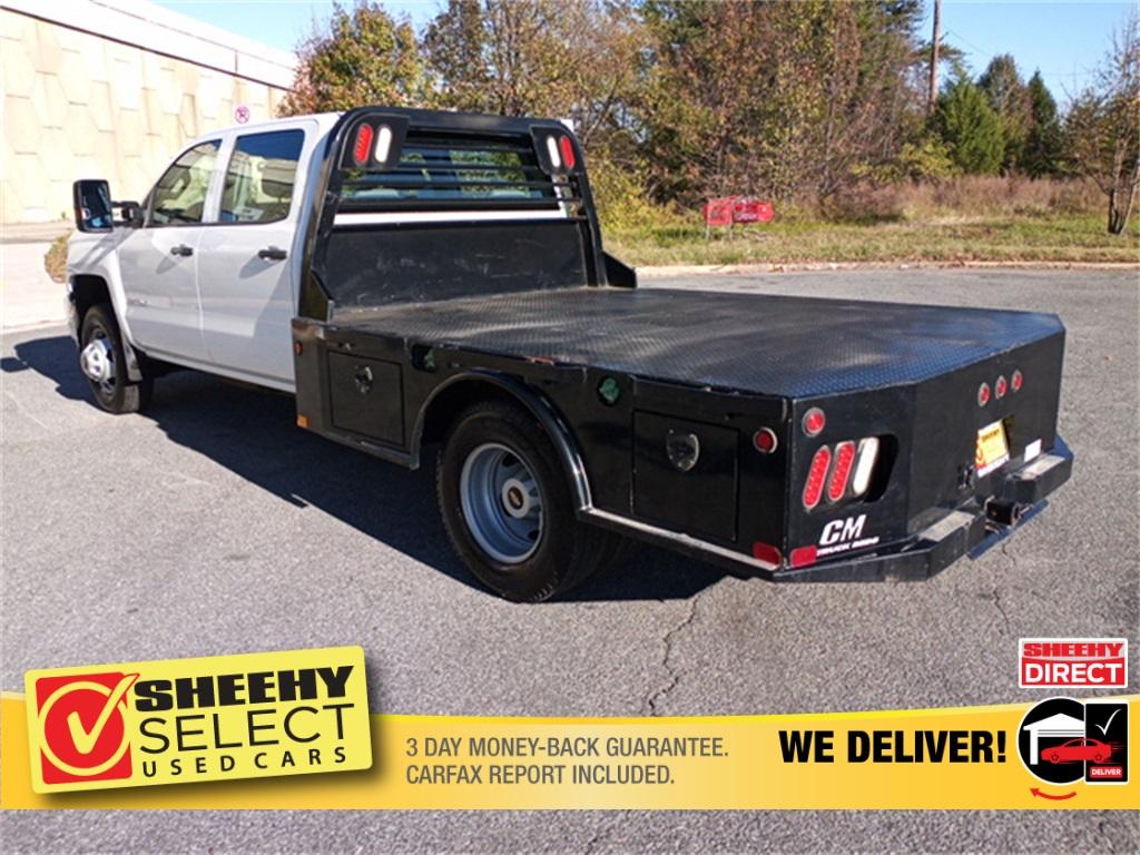 2019 Chevrolet Silverado 3500 Crew Cab 4x4, CM Truck Beds Platform Body #GE97454F - photo 20