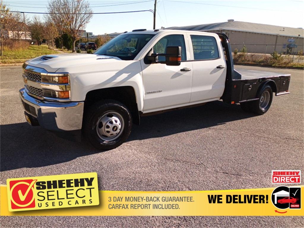 2019 Chevrolet Silverado 3500 Crew Cab 4x4, CM Truck Beds Platform Body #GE97454F - photo 21