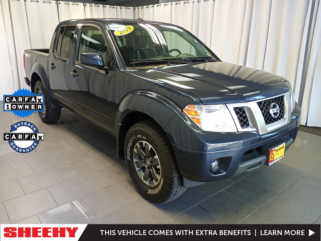 2019 Nissan Frontier Crew Cab 4x4, Pickup #GER9457 - photo 1