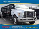 2019 F-750 Regular Cab DRW 4x2,  PJ's Truck Bodies & Equipment Stake Bed #GF01132 - photo 3
