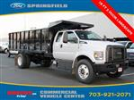 2019 F-750 Super Cab DRW 4x2,  PJ's Truck Bodies & Equipment Landscape Dump #GF02089 - photo 1