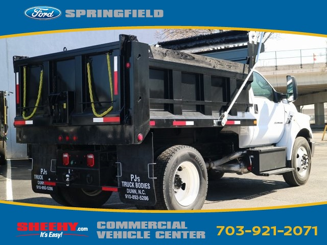 2018 F-650 Regular Cab DRW 4x2,  Godwin Manufacturing Co. Dump Body #GF02091 - photo 6