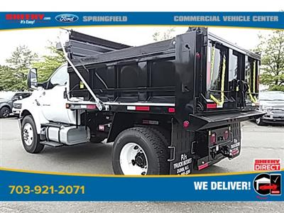 2021 Ford F-750 Regular Cab DRW 4x2, Godwin 300T Dump Body #GF03262 - photo 3