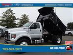 2021 Ford F-750 Regular Cab DRW 4x2, Godwin 300T Dump Body #GF03262 - photo 38