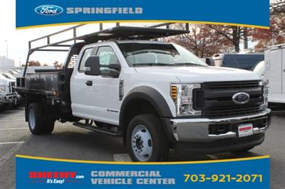 2019 F-450 Super Cab DRW 4x4,  PJ's Platform Body #GF03565 - photo 1