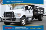2019 F-750 Crew Cab DRW 4x2, PJ's Platform Body Stake Bed #GF03881 - photo 4