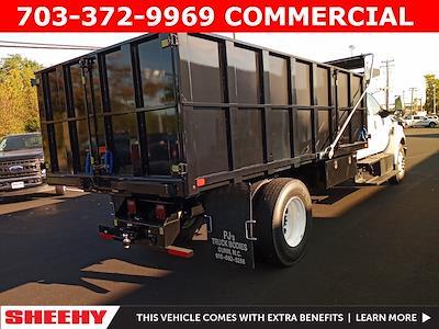 2022 F-650 Crew Cab DRW 4x2,  PJ's Truck Bodies Landscape Dump #GF04919 - photo 2