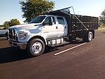 2022 F-750 Crew Cab DRW 4x2,  PJ's Truck Bodies Platform Body Landscape Dump #GF04925 - photo 4