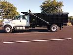 2022 F-750 Crew Cab DRW 4x2,  PJ's Truck Bodies Platform Body Landscape Dump #GF04925 - photo 8