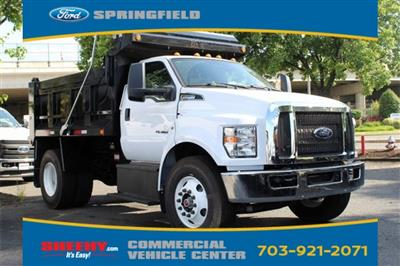 2019 F-650 Regular Cab DRW 4x2,  Godwin 300T Dump Body #GF06196 - photo 4