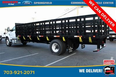 2019 Ford F-750 Regular Cab DRW 4x2, PJ's Stake Bed #GF06220 - photo 4