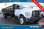2019 Ford F-750 Regular Cab DRW 4x2, PJ's Stake Bed #GF06220 - photo 1