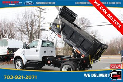 2019 Ford F-650 Regular Cab DRW 4x2, Godwin 300U Dump Body #GF15176 - photo 2