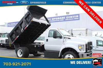 2019 Ford F-650 Regular Cab DRW 4x2, Godwin 300U Dump Body #GF15176 - photo 4