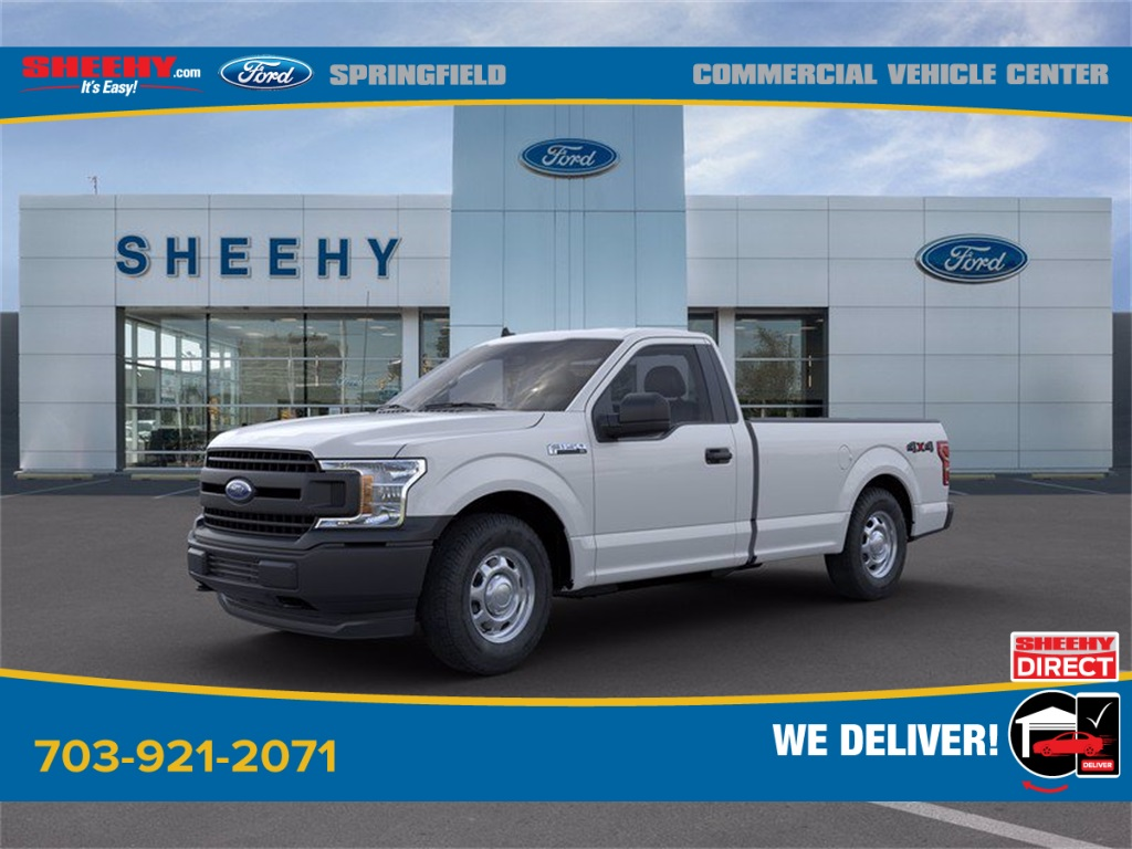 2020 Ford F-150 Regular Cab 4x4, Pickup #GF24805 - photo 4