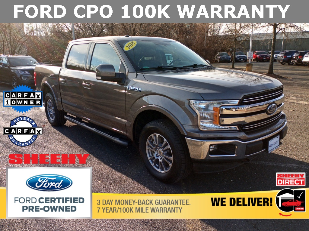 2018 Ford F-150 SuperCrew Cab 4x4, Pickup #GF33996A - photo 1