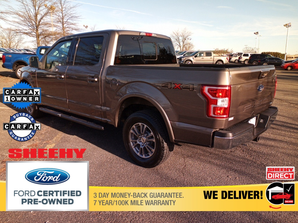 2018 Ford F-150 SuperCrew Cab 4x4, Pickup #GF33996A - photo 4
