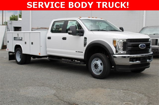 2019 F-450 Crew Cab DRW 4x4,  Reading Classic II Steel Service Body #GF84962 - photo 1