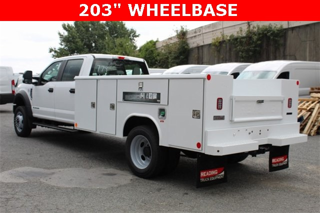 2019 F-450 Crew Cab DRW 4x4,  Reading Classic II Steel Service Body #GF84962 - photo 4