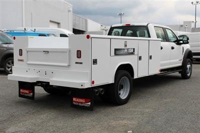 2019 F-450 Crew Cab DRW 4x4,  Reading Classic II Steel Service Body #GF84962 - photo 2