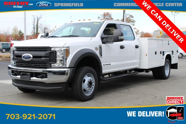 2019 Ford F-450 Crew Cab DRW 4x4, Knapheide Service Body #GG17745 - photo 1