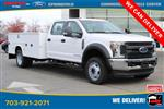 2019 Ford F-450 Crew Cab DRW 4x4, Knapheide Steel Service Body #GG17745 - photo 3