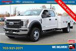 2019 Ford F-450 Crew Cab DRW 4x4, Knapheide Steel Service Body #GG17745 - photo 1