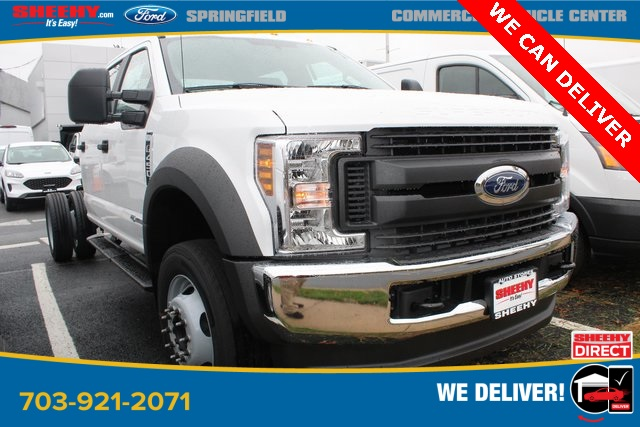 2019 Ford F-450 Crew Cab DRW 4x4, Cab Chassis #GG34437 - photo 2