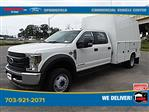 2019 Ford F-450 Crew Cab DRW 4x4, Reading Panel Service Body #GG57942 - photo 4