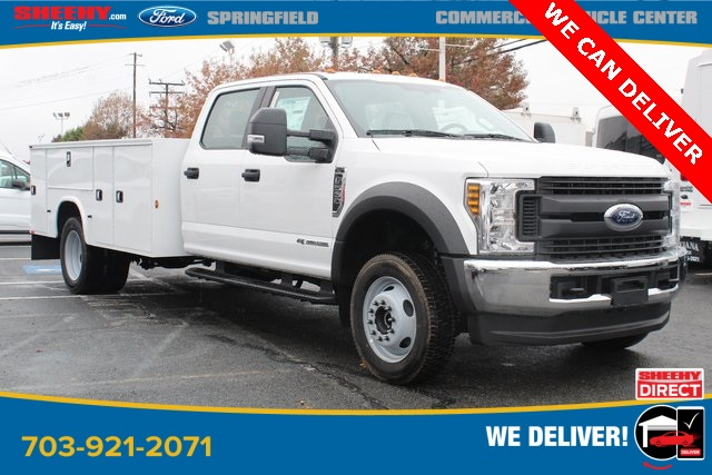 2019 Ford F-550 Crew Cab DRW 4x4, Knapheide Service Body #GG58086 - photo 1