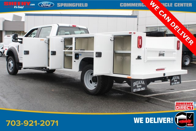 2019 F-550 Crew Cab DRW 4x4, Knapheide Steel Service Body #GG58086 - photo 4