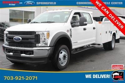 2019 F-550 Crew Cab DRW 4x4, Knapheide Steel Service Body #GG58086 - photo 3