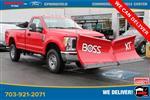 2019 F-350 Regular Cab 4x4, BOSS Snowplow Pickup #GG66926 - photo 3