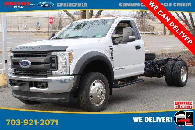 2019 Ford F-550 Regular Cab DRW 4x4, Cab Chassis #GG69275 - photo 1