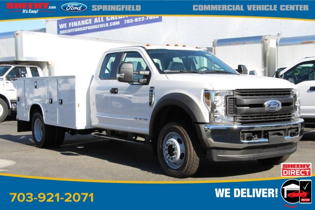 2019 Ford F-550 Super Cab DRW 4x4, Knapheide Service Body #GG79506 - photo 1