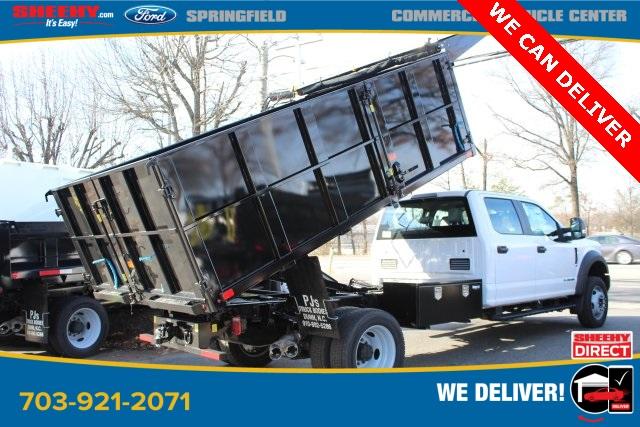 2019 Ford F-550 Crew Cab DRW 4x4, PJ's Landscape Dump #GG80404 - photo 1