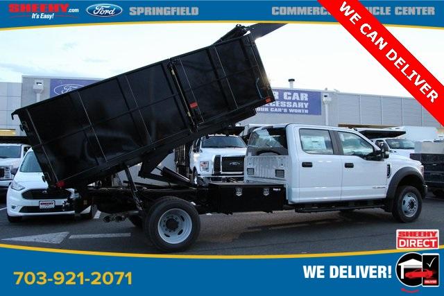 2019 Ford F-550 Crew Cab DRW 4x4, PJ's Landscape Dump #GG80405 - photo 1