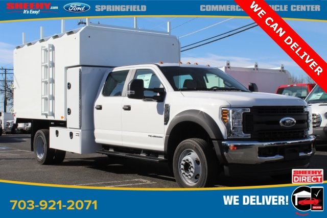 2019 F-550 Crew Cab DRW 4x4, PJ's Chipper Body #GG80406 - photo 1
