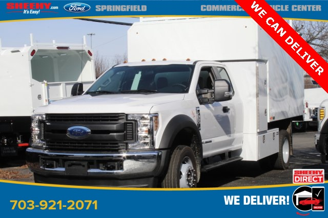 2019 F-550 Super Cab DRW 4x4, PJ's Chipper Body #GG80484 - photo 1