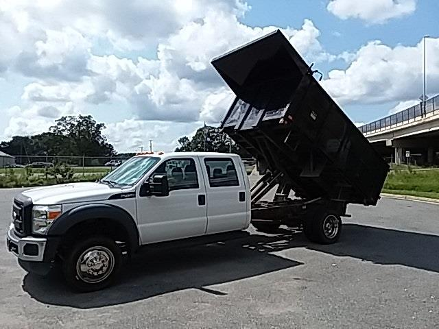 2014 Ford F-450 Crew Cab DRW 4x2, Landscape Dump #GP9237Z - photo 21