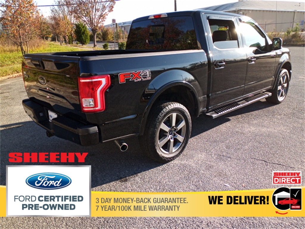2017 Ford F-150 SuperCrew Cab 4x4, Pickup #GP9284 - photo 2