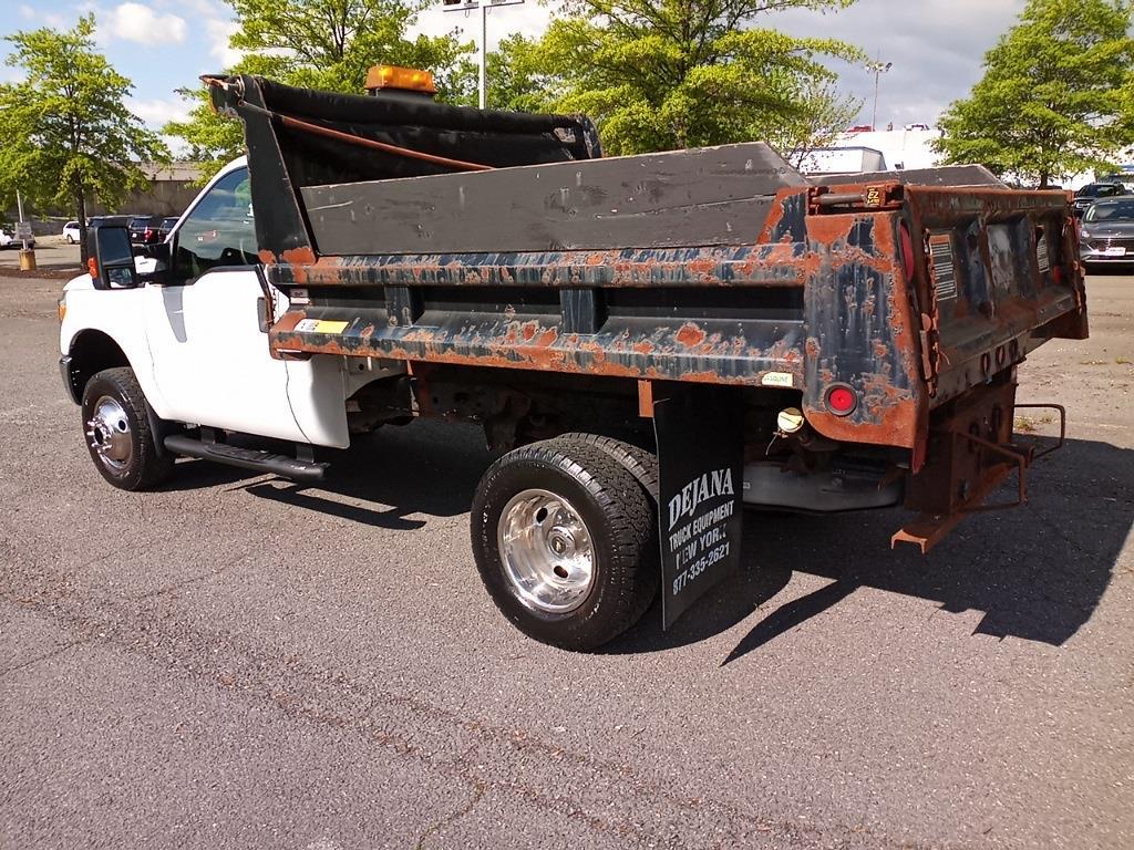 2012 Ford F-350 Regular Cab DRW 4x4, Dump Body #GZP9384 - photo 3