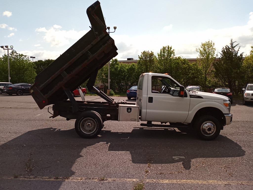 2012 Ford F-350 Regular Cab DRW 4x4, Dump Body #GZP9384 - photo 15