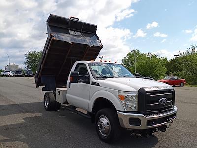 2012 Ford F-350 Regular Cab DRW 4x4, Dump Body #GZP9384 - photo 14